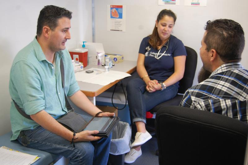 Between April and August, the program has served 378 people who received a total of 4,672 screening services.