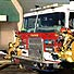 Tucson Firefighters extinguishing a fire in a building